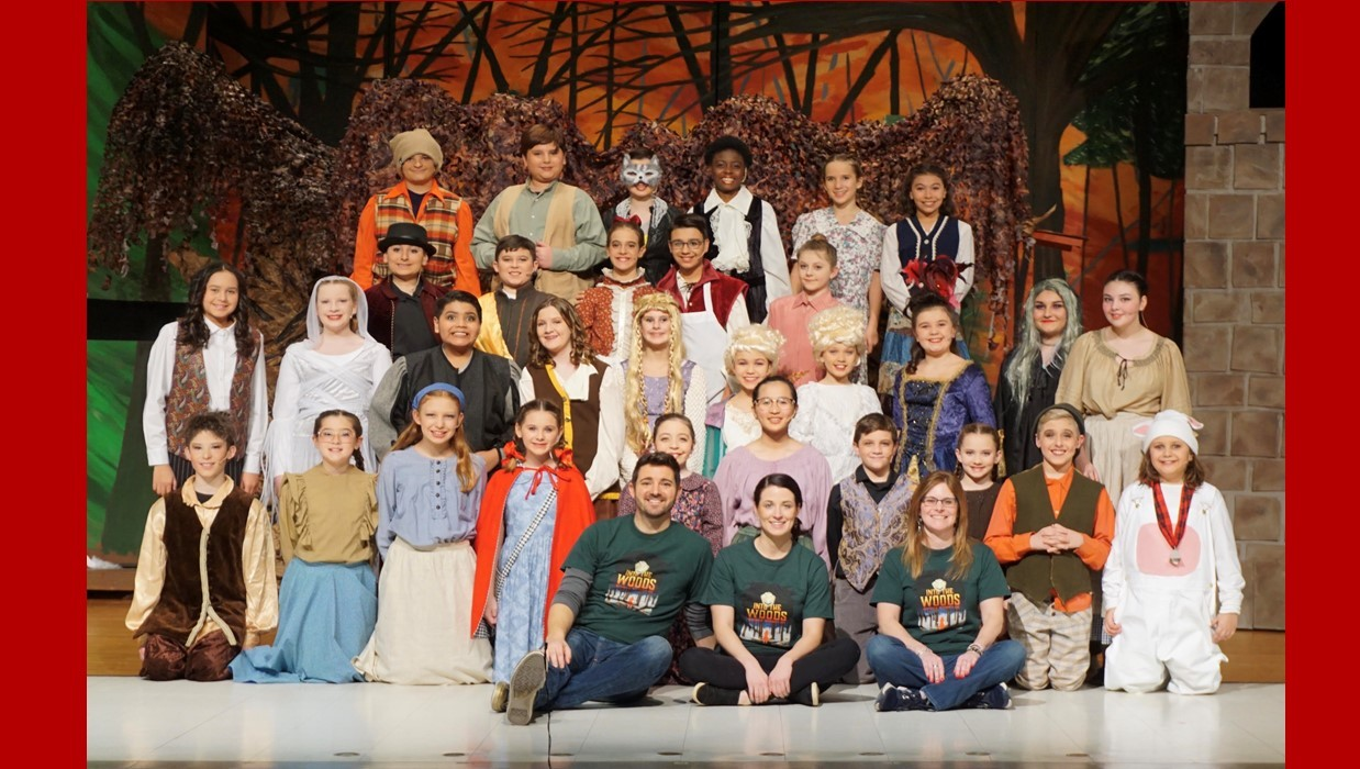 "Cast from WIS musical ""Into the Woods"""
